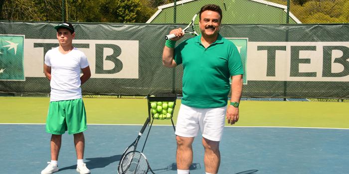 We Are Tennis'in yeni reklam filmi yüzü Bülent Serttaş oldu