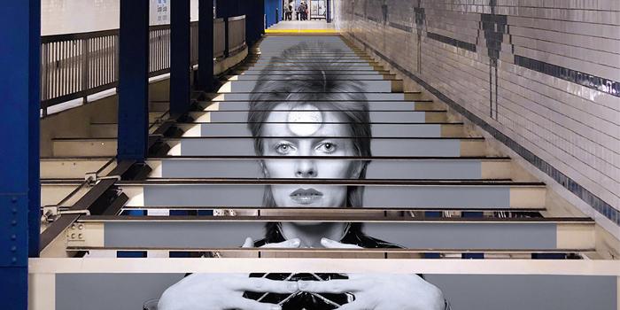 Spotify'dan New Yorklulara David Bowie sürprizi