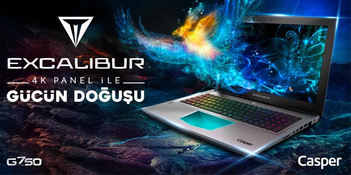 Excalibur G750 ile gücün doğuşu