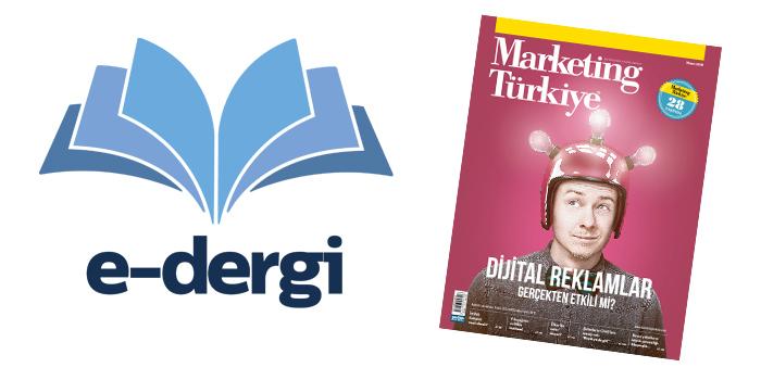 Marketing Türkiye Nisan sayısıyla Türk Telekom'un e-dergi uygulamasında...