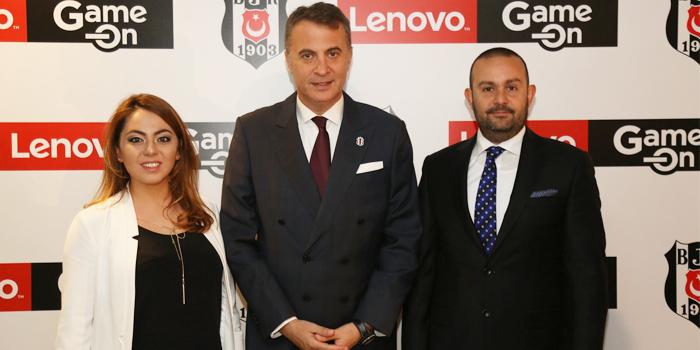 Beşiktaş JK ve Lenovo'dan dünyada bir ilk