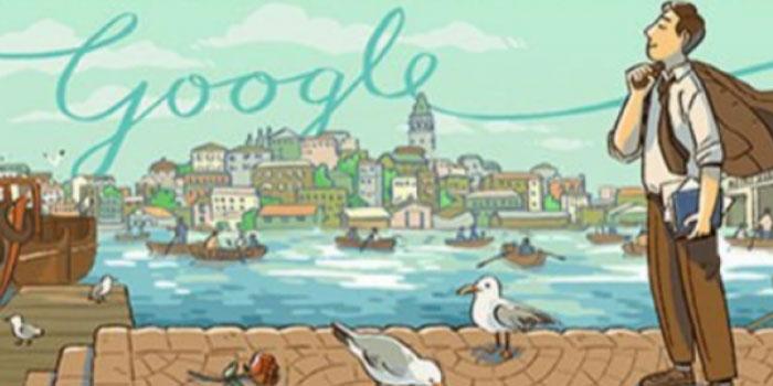 Google, Orhan Veli'yi doodle ile andı