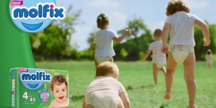 Molfix'in yeni reklam filmi yayında...