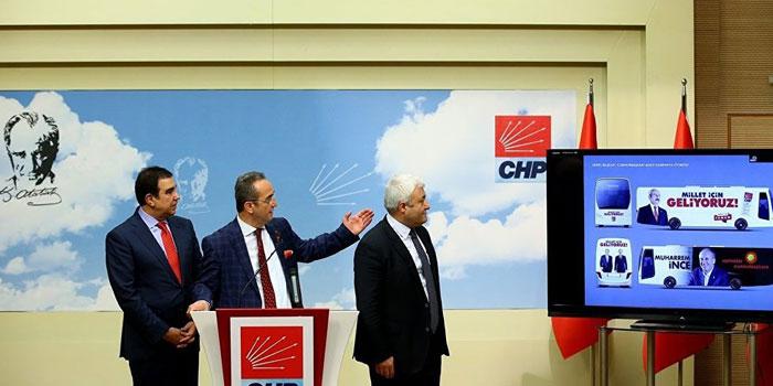 CHP seçim sloganlarını açıkladı