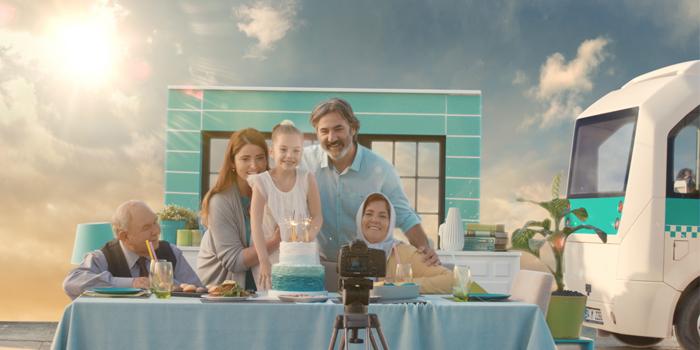 Yenilenen Türkiye Finans'tan yepyeni reklam filmi