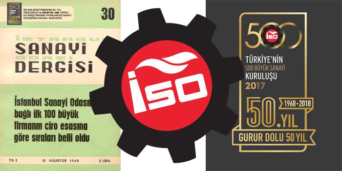 İSO, 500 Büyük Sanayi Kuruluşu Araştırması'nın ilk sayısının yeniden bastırdı