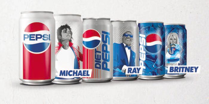 Pepsi'nin yeni retro kampanyası pop kültürü efsanelerini bir araya getiriyor