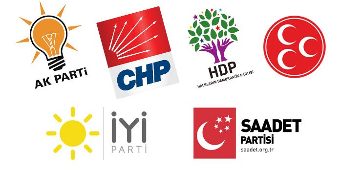 İşte 6 partinin 24 Haziran için hazırladıkları seçim kampanyaları...