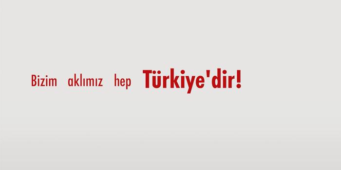 MHP'nin yeni kampanyasında Türkiye vurgusu
