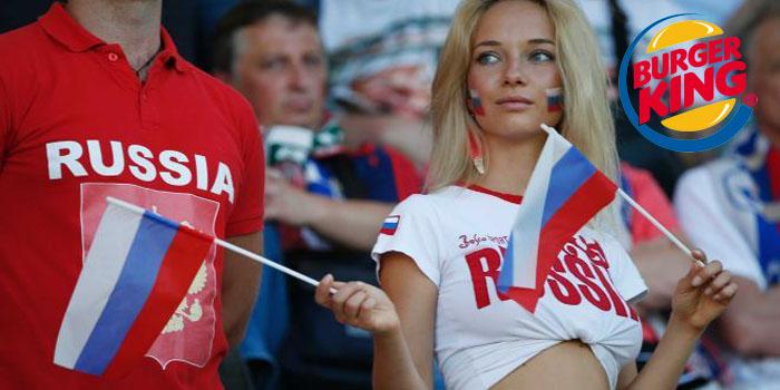 Burger King Rus kadınlarını aşağılayan reklam için özür diledi