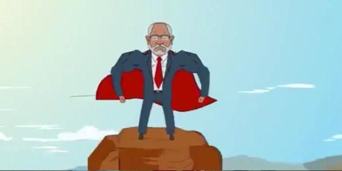 Bir animasyon da Saadet Partisi'nden: Süpermen Karamollaoğlu