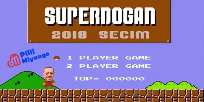Super Mario siyasete adım attı