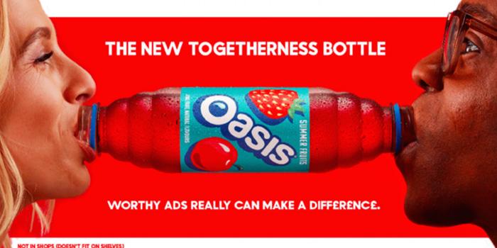 Eğlenceli bir iletişim kampanyası: Birliktelik şişesi