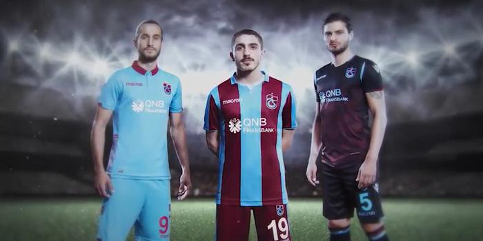 Trabzonspor yeni forma lansmanıyla ekranlarda