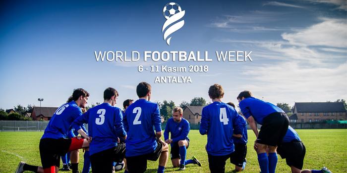 World Football Week'te geri sayım sürüyor