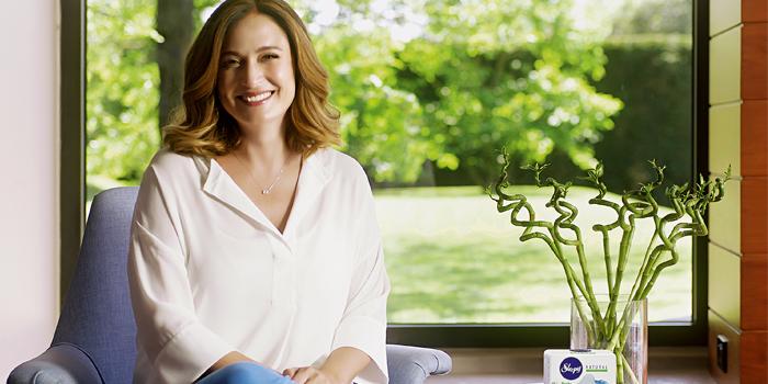Ceyda Düvenci, Sleepy Natural kadın pedi reklamlarında