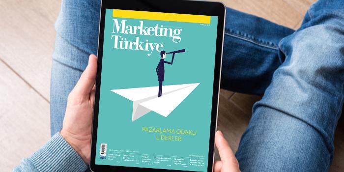 Marketing Türkiye Temmuz sayısıyla Türk Telekom'un e-dergi uygulamasında...
