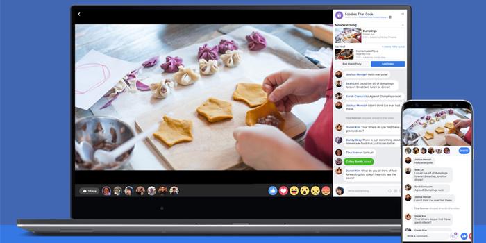 Facebook'un grup halinde video izlenmesini sağlayan yeni özelliği: Watch Party