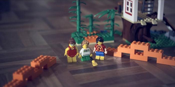 """""""Çıplak ayakla LEGO®'ya basmak"""" reklama ilham oldu"""