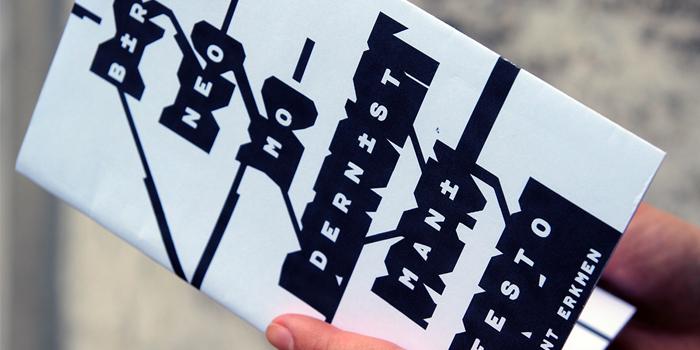 Bülent Erkmen'den bir neo-modernist manifesto