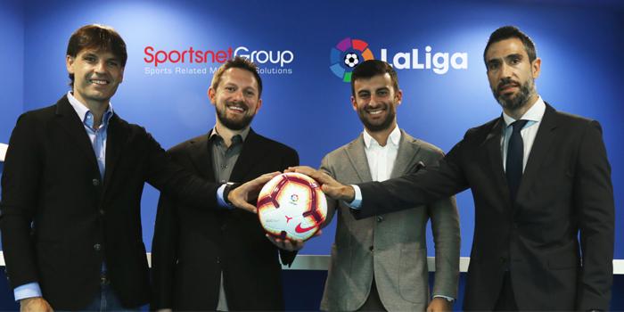 Sportsnet Group ve LaLiga'dan 3 yıllık iş birliği