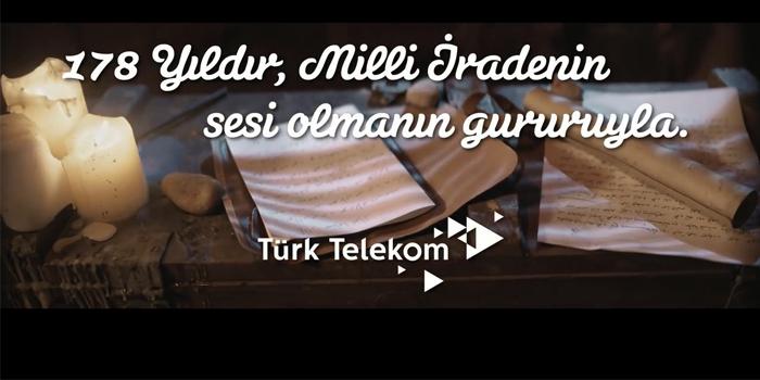 Türk Telekom'dan 15 Temmuz'a özel reklam filmi