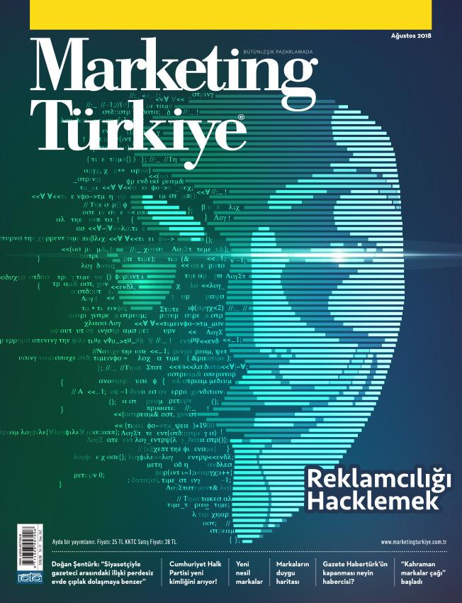 """""""Reklamcılığı Hacklemek"""" Marketing Türkiye Ağustos sayısında!"""