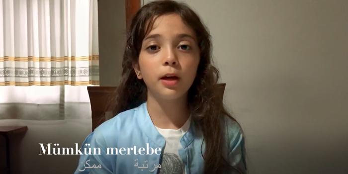 Suriyeli Bana'dan Türkiye'ye mesaj var...