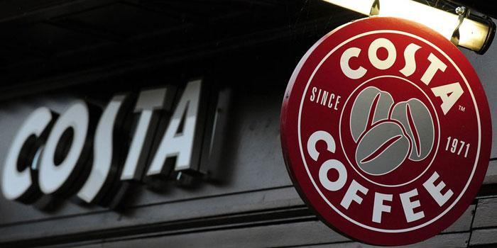 Coca-Cola kahve zinciri Costa'yı satın alarak sıcak içecek işine giriyor