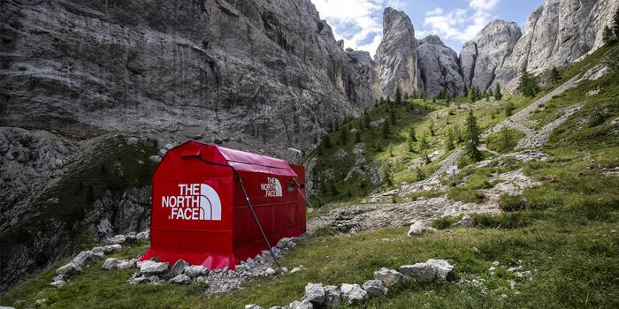 The North Face'ten yüksek irtifada pop-up mağaza