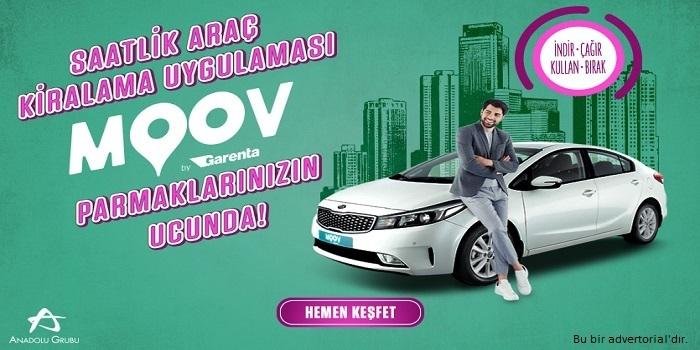 Kullandığın kadar araç şimdi kapında, MOOV by Garenta yayında!