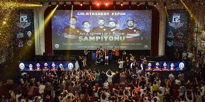Ezeli rekabetin espor şampiyonu Galatasaray oldu
