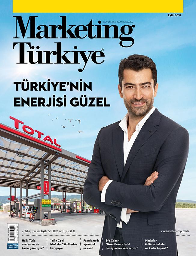 """""""Türkiye'nin enerjisi güzel"""" Marketing Türkiye Eylül sayısında..."""