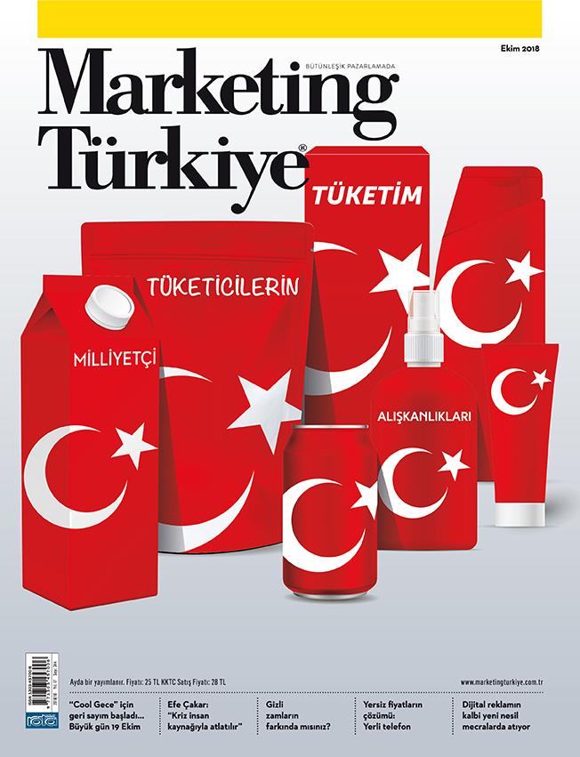 """""""Milliyetçi tüketicilerin tüketim alışkanlıkları"""" Marketing Türkiye Ekim sayısında!"""