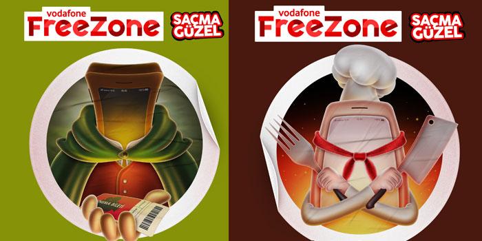 """Vodafone'un gençlik markası """"FreeZone"""" yenilendi"""