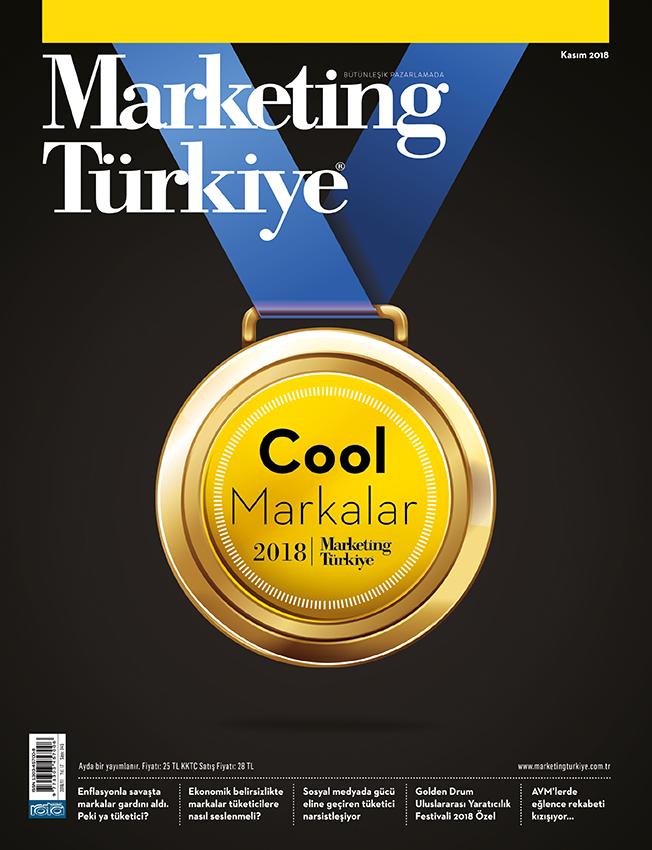 2018'in En Cool Markaları Marketing Türkiye Kasım Sayısında!