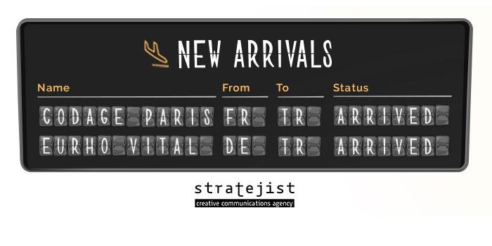 Stratejist Creative Communications Agency iki yeni markayla el sıkıştı