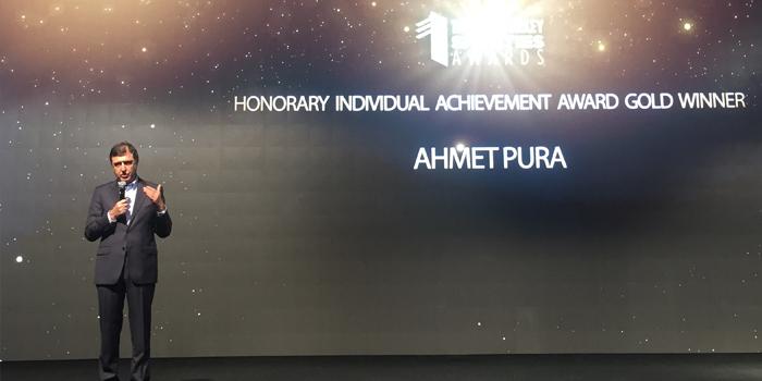 Ahmet Pura'ya MMA'den Onursal Kişisel Başarı Ödülü