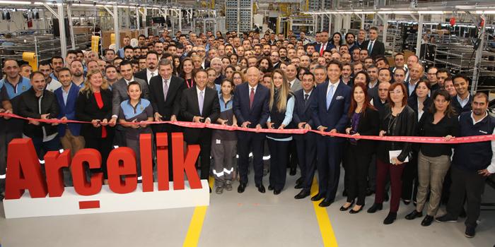Arçelik, Çerkezköy'de 500 Milyon TL'lik yatırımla geleceğin akıllı televizyon fabrikasını kurdu