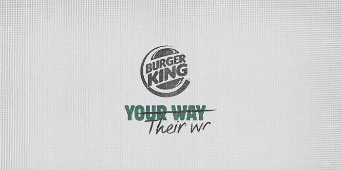 Burger King yeni iletişim çalışmasında siyasal mesaj verdi