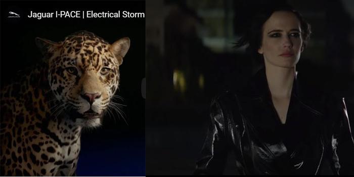 Dünyaca ünlü oyuncu Eva Green Jaguar'ın reklam yüzü oldu