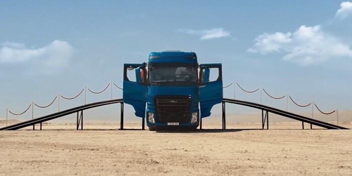 En Büyük Ford Trucks: F-MAX'ın reklamı yayında