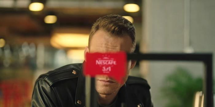 Nescafé 3ü1 Arada Kerem Bursin'i gölgede bıraktı