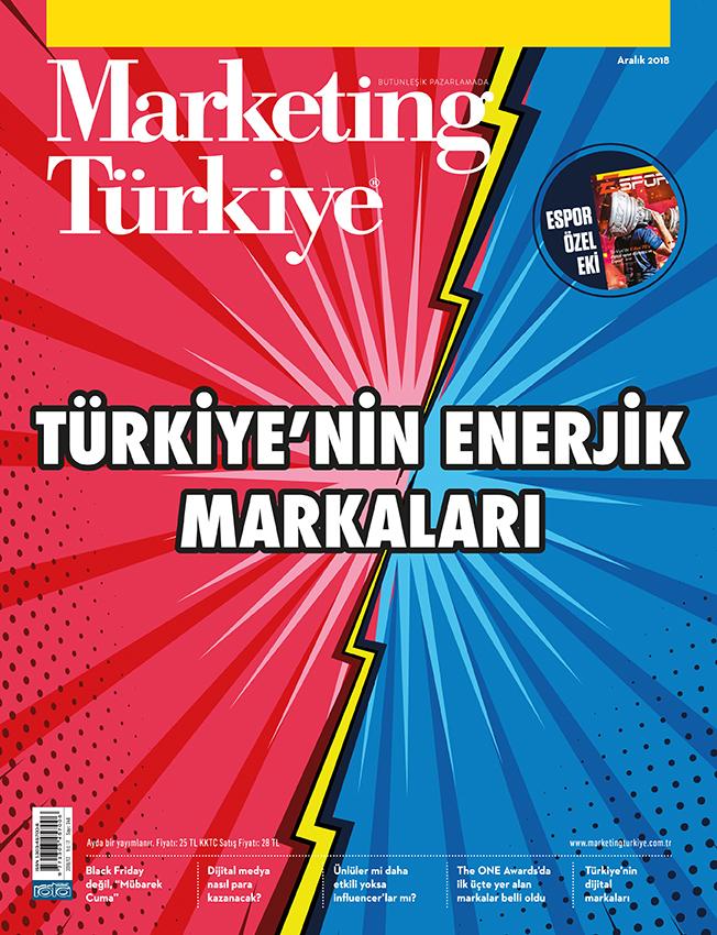 Türkiye'nin enerjik markaları Aralık sayısında!