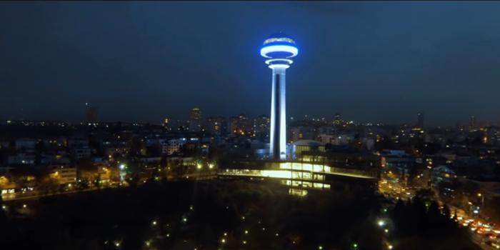 Atakule reklam filmi, Ankara'ya bir de Atakule'den baktırıyor