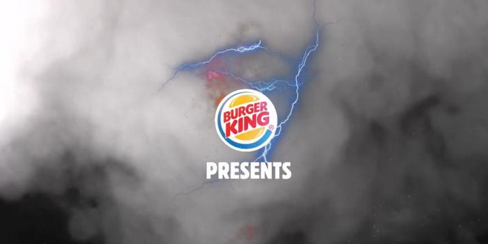 Korku filmi değil Burger King'in iletişim çalışması