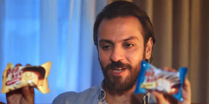 Eti Popkek'in yeni reklam yüzü Erkan Kolçak Köstendil oldu