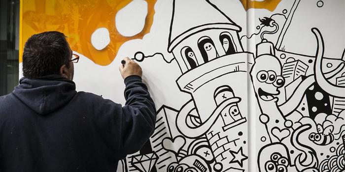 Graffiti Sanatı, Fairmont'ta