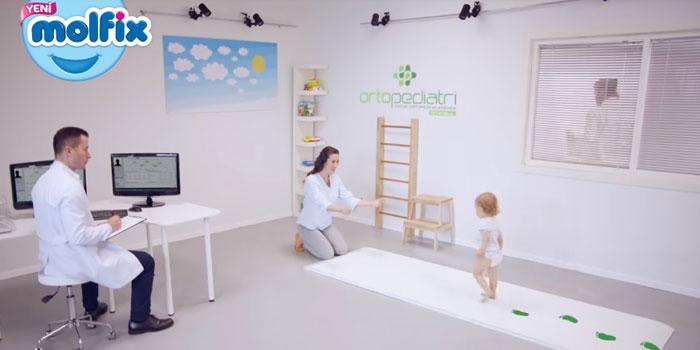Molfix, bebeklerin ilk adımlarına odaklanıyor