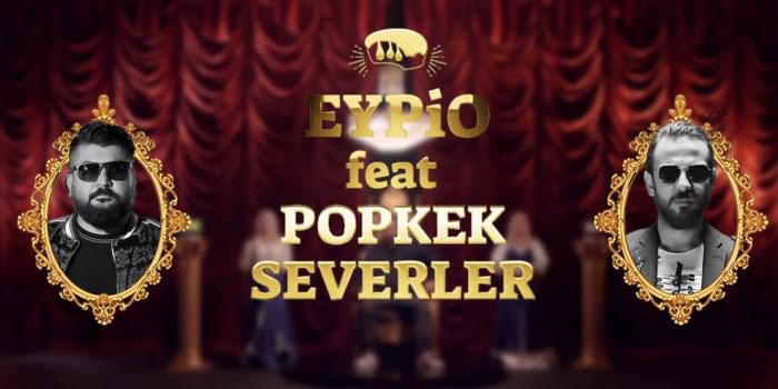 """""""Vartolu Sadettin"""" ile Eypio'dan Popkekseverler için rap performansı"""